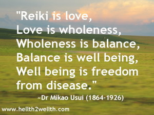 Dr Mikao Usui quote_Reiki